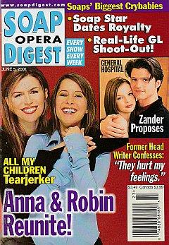 Soap Opera Digest June 5, 2001