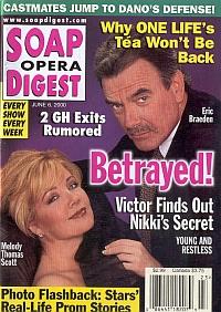 Soap Opera Digest - June 6, 2000