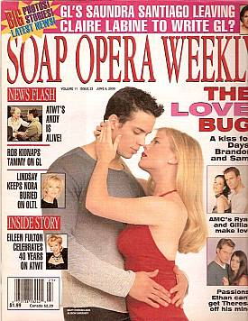 Soap Opera Weekly June 6, 2000