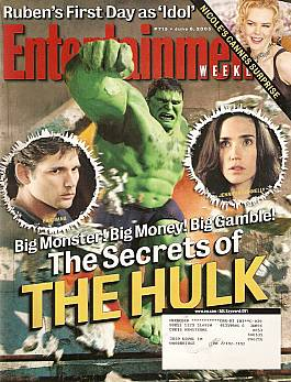 Entertainment Weekly June 6, 2003