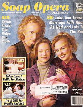 Soap Opera Magazine June 6, 1995
