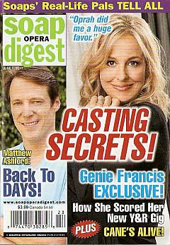 June 7, 2011 issue of Soap Opera Digest magazine