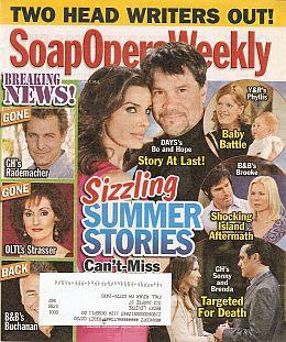 Soap Opera Weekly - June 7, 2011