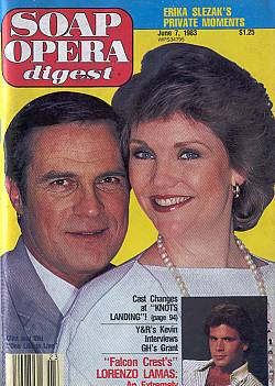 June 7, 1983 Soap Opera Digest