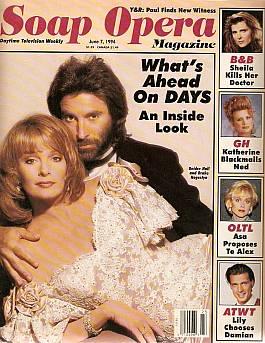 Soap Opera Magazine June 7, 1994