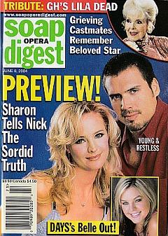 Soap Opera Digest June 8, 2004