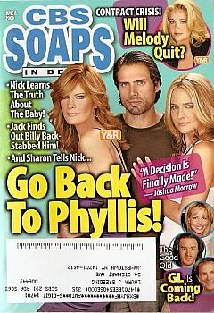 CBS Soaps In Depth June 8, 2009