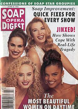 Soap Opera Digest June 8, 1993