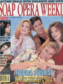 Soap Opera Weekly June 8, 1993