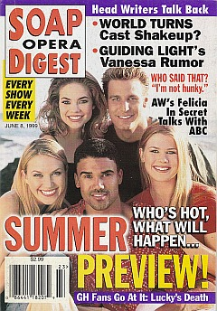 Soap Opera Digest - June 8, 1999