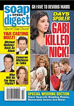 June 9, 2014 issue of Soap 