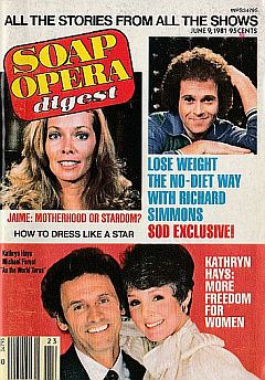 June 9, 1981 issue of Soap Opera Digest