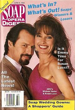 Soap Opera Digest June 9, 1992