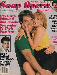 Soap Opera Magazine June 9, 1992