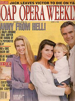 Soap Opera Weekly June 9, 1992