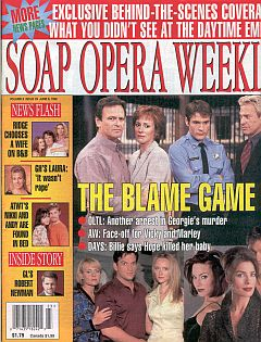 Soap Opera Weekly June 9, 1998