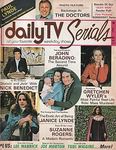 Daily TV Serials July 1974