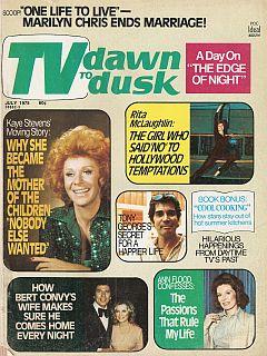 TV Dawn To Dusk July 1975