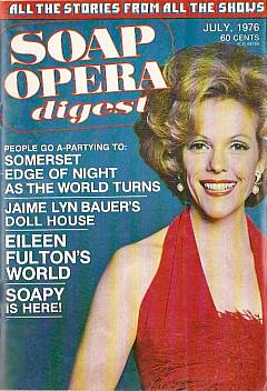July 1976 issue of Soap Opera Digest