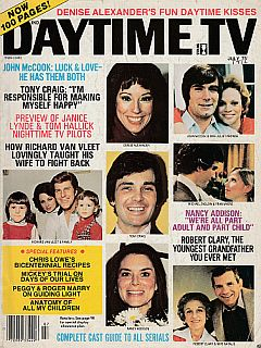 July 1976 issue of Daytime TV soap opera magazine