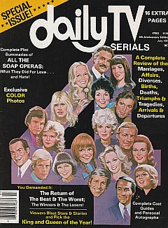 Daily TV Serials July 1977