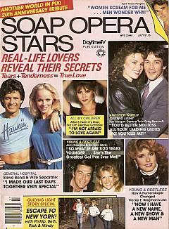 Soap Opera Stars July 1984