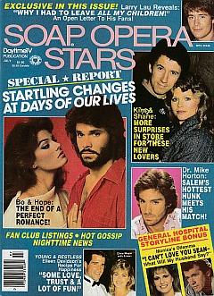 Soap Opera Stars July 1986