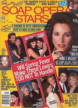 Soap Opera Stars July 1989