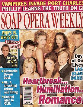 Soap Opera Weekly July 10, 2001