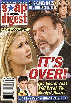 Soap Opera Digest July 10, 2007