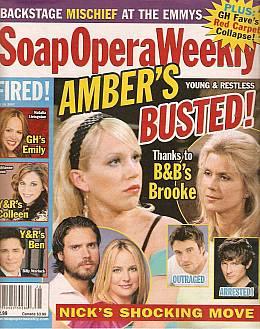 Soap Opera Weekly July 10, 2007