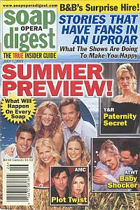 Soap Opera Digest July 1, 2003