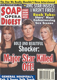 Soap Opera Digest - July 11, 2000