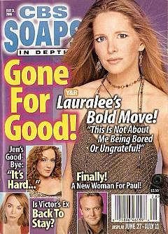 CBS Soaps In Depth July 11, 2006
