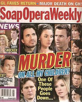 Soap Opera Weekly July 11, 2006
