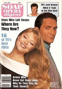 Soap Opera Digest July 11, 1989