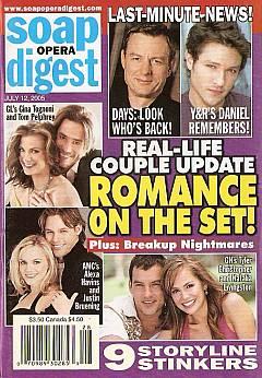 Soap Opera Digest July 12, 2005