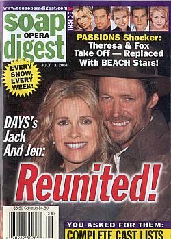 Soap Opera Digest July 13, 2004