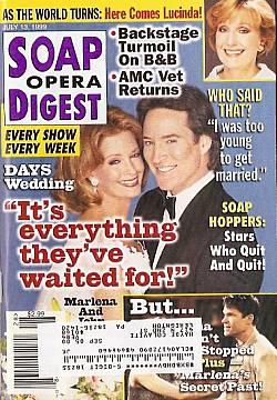 Soap Opera Digest - July 13, 1999