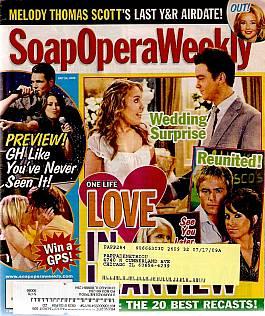 Soap Opera Weekly July 14, 2009
