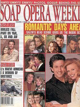 Soap Opera Weekly July 14, 1992