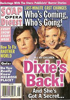 Soap Opera Digest - July 14, 1998