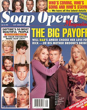 Soap Opera Magazine July 14, 1998