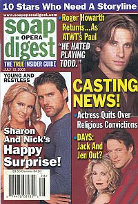 Soap Opera Digest July 15, 2003