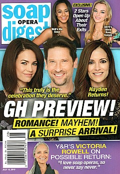 Soap Opera Digest - July 15, 2019