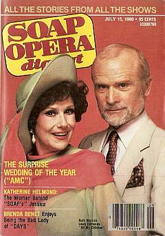 July 15, 1980 issue of Soap Opera Digest