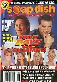 Soap Dish magazine July 15, 1997