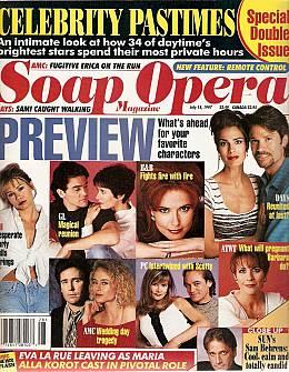 Soap Opera Magazine July 15, 1997