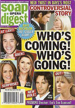 Soap Opera Digest July 17, 2007
