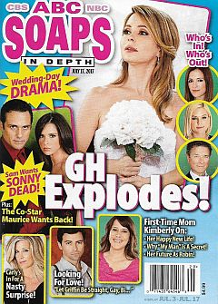 July 17, 2017 issue of ABC Soaps In Depth magazine